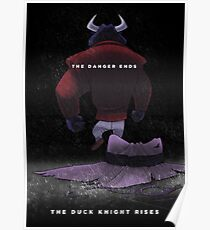 The Duck Knight Rises Poster