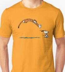 Snoopy And Hobbes T-Shirt