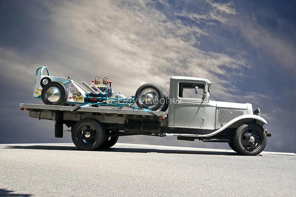 Hot Rod Hauler II 1934 by DaveKoontz
