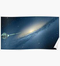 A Galaxy Beckons Poster