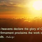 The Glory of God by lensbaby