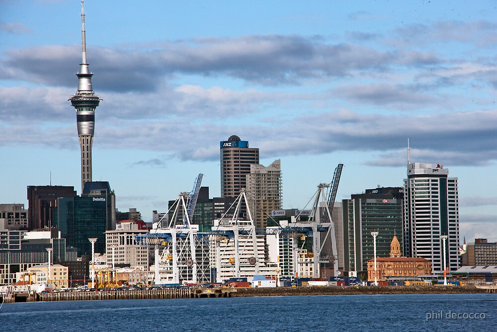 Auckland Waterfront by phil decocco