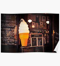 Ice Cream Stand Poster