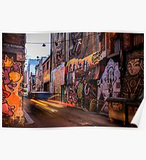 Graffiti Lane Poster