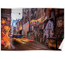 Graffiti Lane Poster