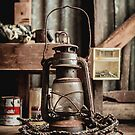 Old Vintage Rustic Lantern by jamjarphotos