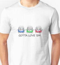 VW Camper Gotta Love Em T-Shirt