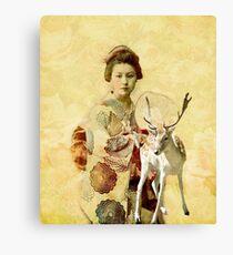 Kimono Canvas Print