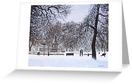 Southampton Watts Park in the Snow by martyee