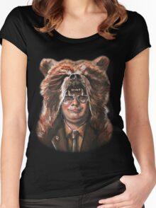 Bear Schrute Women's Fitted Scoop T-Shirt