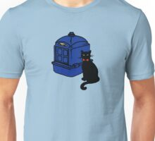 Kitty Who and the T.A.R.D.I.S Unisex T-Shirt