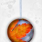 Maple Bauble by Michelle Ricketts