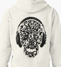 °ღ♫Cool Vintage Feel Skull Listening to Music Clothing & Stickers♪ღ° T-Shirt