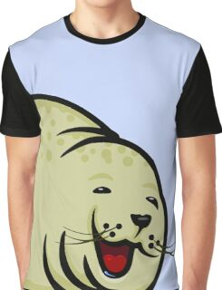 Happy Seal VRS2 Graphic T-Shirt