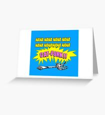Cat-Fork Greeting Card