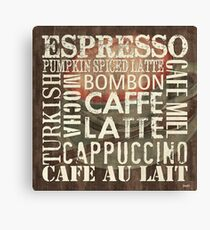 Coffee of the Day 2 Canvas Print