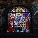 Parma West Window by Nigel Fletcher-Jones