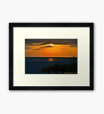 Beachscape Framed Print