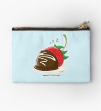 Cute Sweet Dreams Chocolate Strawberry Studio Pouch