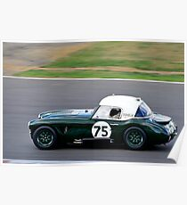 Austin Healey 3000 No 75 Poster