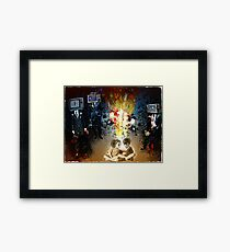 TV KIDS Framed Print