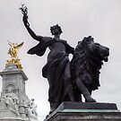 Victoria Memorial, London. Peace & Victory by Eve Parry
