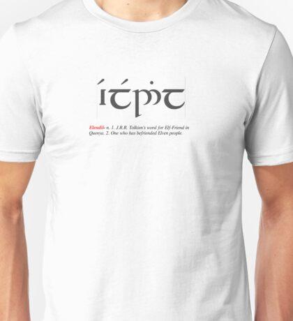 Elf-Friend Definition Unisex T-Shirt