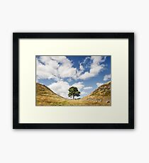 Sycamore Gap, Hadrian's Wall Framed Print