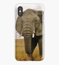 Serengeti Elephant iPhone Case/Skin