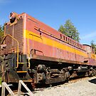 Old Train Wagon at Rest by MaluC