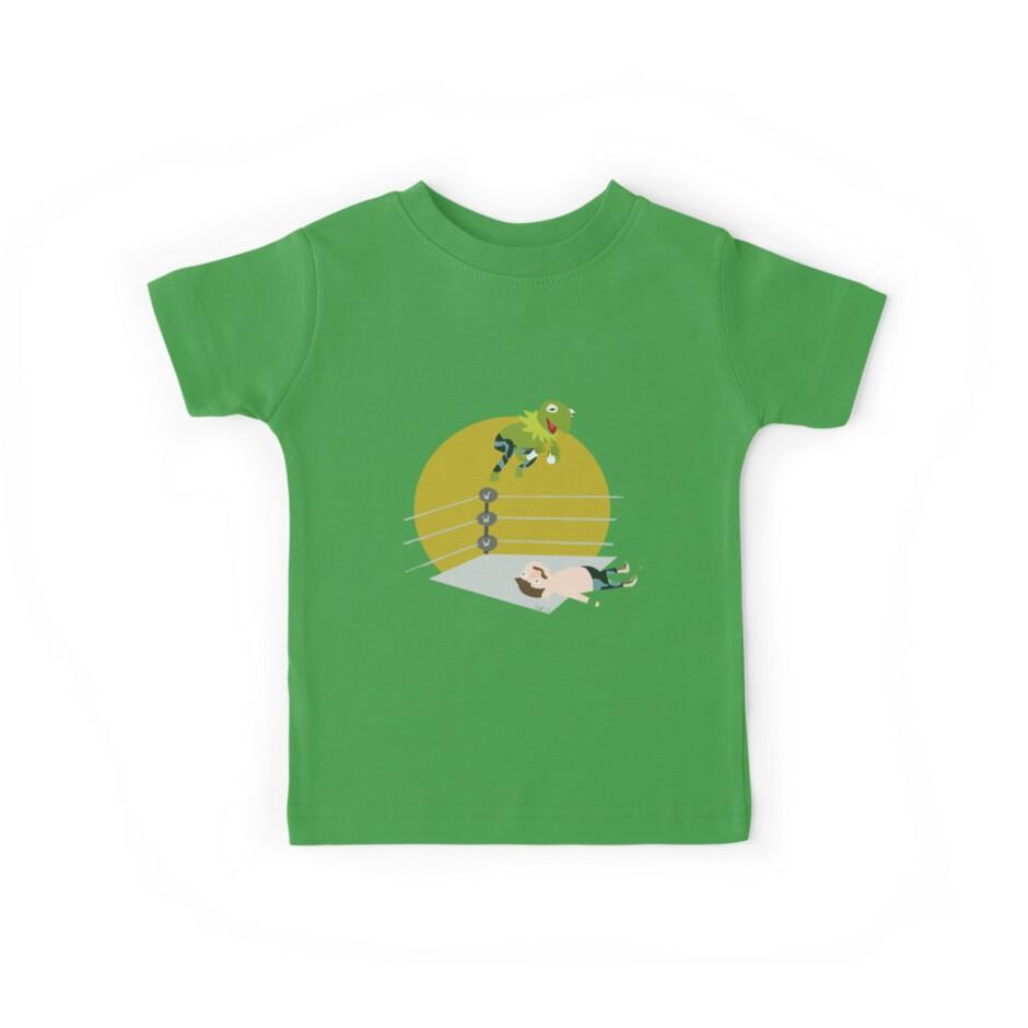 Kermit the Frogsplash by ninjacafe