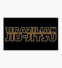 Brazilian Jiu-Jitsu Photographic Print