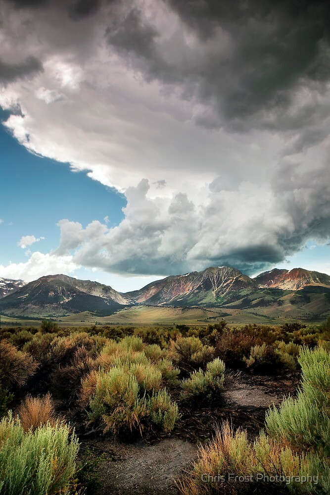 Mono Lake Storm by Chris Frost Photography