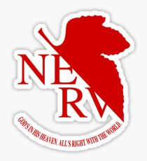 NERV Red Logo Sticker