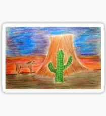 Southwest Sunset Sticker