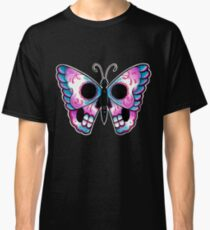 Sugar Skull Butterfly Tattoo Flash Classic T-Shirt