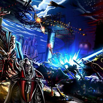 Capcom vs Konami by LightningArts
