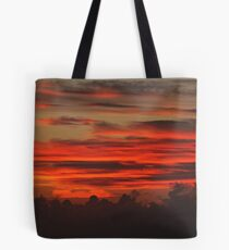 """ A Cornish Sunset"" Tote Bag"