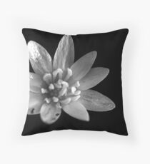 untitled flower Throw Pillow