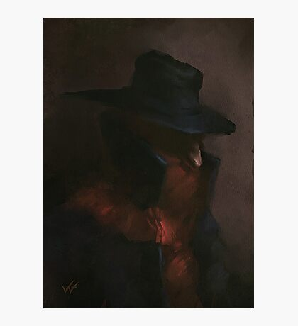 The Shadow  Photographic Print