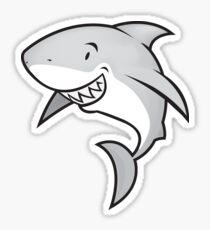 Love sharks/Great white buddy Sticker