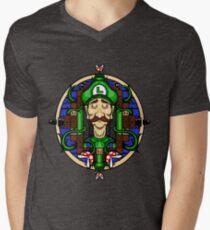 Luigi's Lament Mens V-Neck T-Shirt