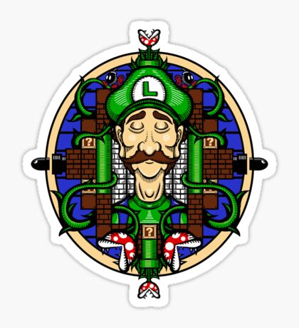 Luigi's Lament Sticker
