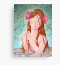 Water Lilly Canvas Print