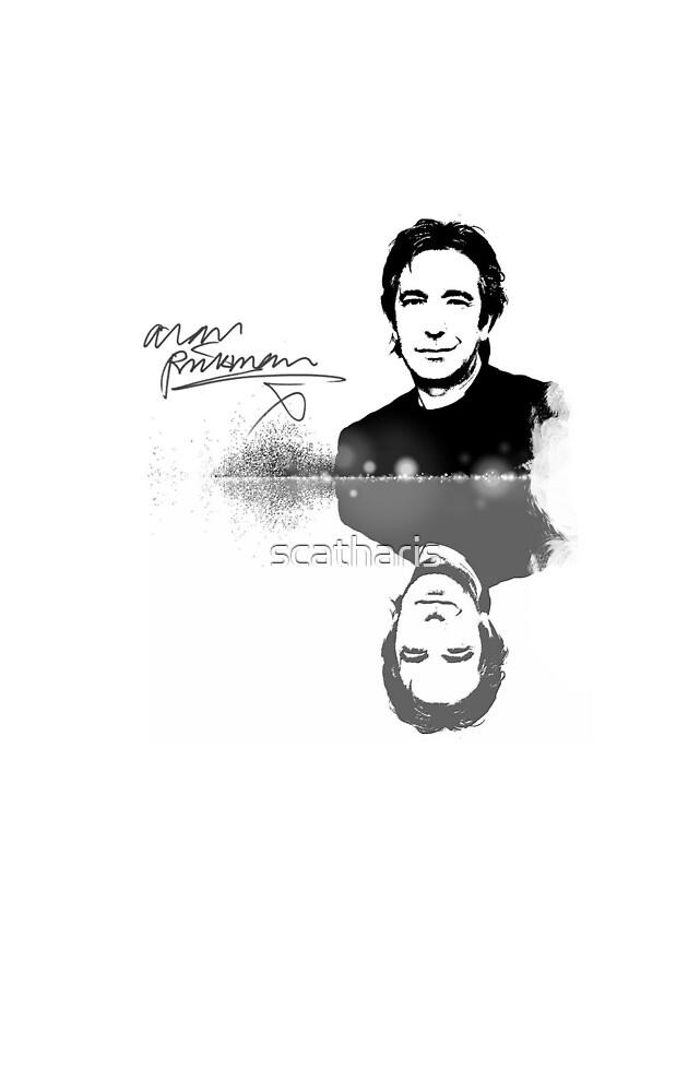 New Alan Rickman Fan case design by scatharis