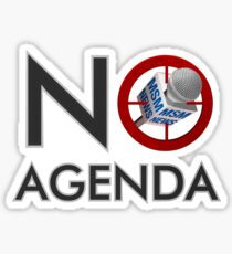 No Agenda Logo - Stickers! Sticker