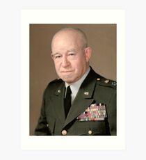 General Omar Bradley Art Print