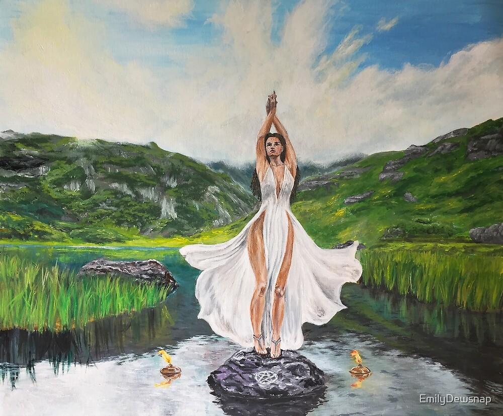 Summoning Spell - Loch Lomond Witch by EmilyDewsnap