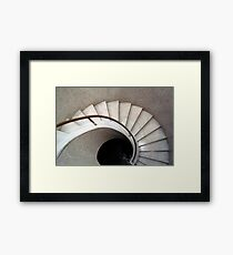 Spiral Stair - Denys Lasdun Framed Print