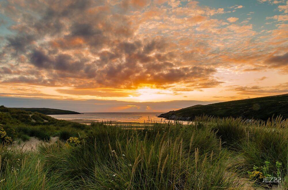 Crantock Beach by JEZ22